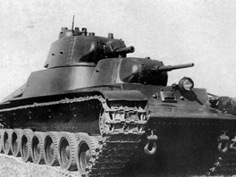 Dvouvěžový tank SMK (Sergej Mironovič Kirov)