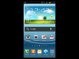Displej Samsungu Galaxy S III