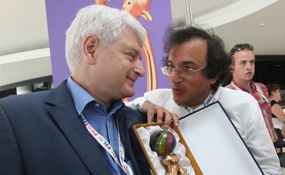 Umělecký šéf zlínského filmového festivalu pro děti a mládež Petr Koliha