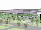 Takto bude vypadat obchodní zóna mezi jihlavskou nemocnicí a obchvatem.