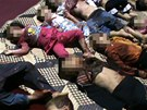 D�ti zabit� b�hem krveprolit� v H�l� (27. kv�tna 2012)