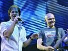 Pavol Habera vystoupil se skupinou Team 29. května v Praze v rámci turné na