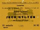 Pozvánka na koncert v Lucerně, 1931