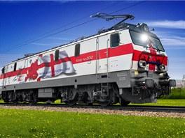 """""""Anglická lokomotiva""""  PKP Intercity EP-09."""