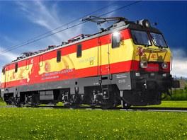 """""""Španělská lokomotiva"""" PKP Intercity EP-09."""
