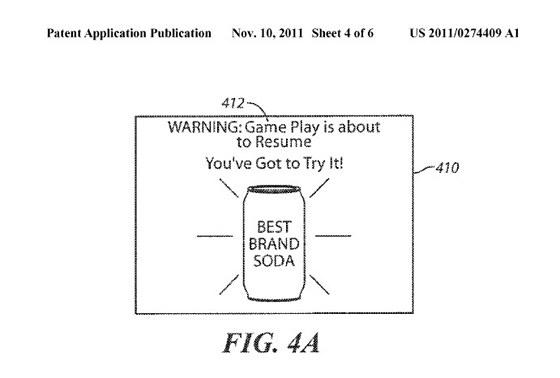 Sony patentuje hraní přerušované reklamou