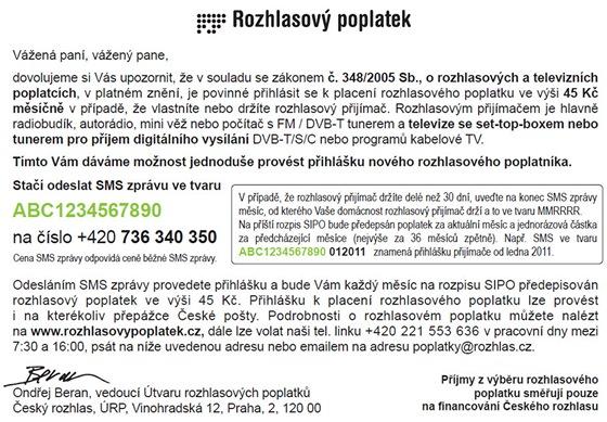 Český rozhlas - poplatky