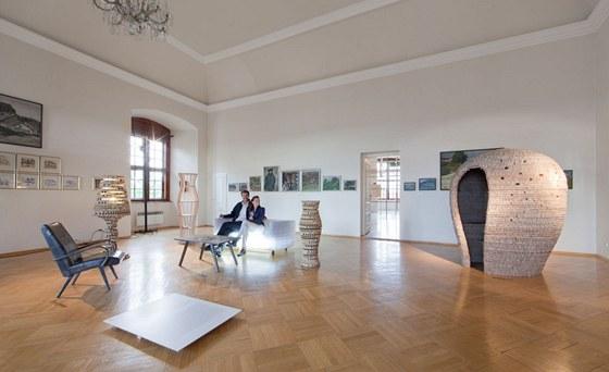 Substance 012 je název  nové kolekce Jiřího Pelcla, kterou vystavil na zámku v