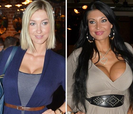 Dominika Mesaro�ov� a Julie Zugarov� se chlub� ob��mi dekolty