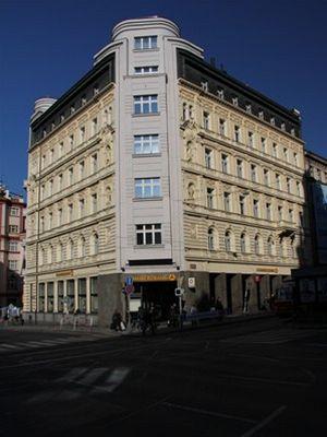 Budova pražské pobočky Commerzbank