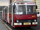 V ulicích lidé Ikarus běžně nepotkají, autobusy již byly z běžného provozu