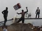 Leteck� trag�die v nigersk�m Lagosu (3. �ervna 2012)