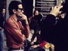 Komunistický režisér Pasolini při natáčení