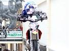 Liberecký obchodní dům Forum hostil neobyčejnou show na motorkách.