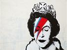 Banksy oslavuje 60 let vlády královny Alžběty II.