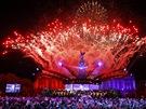Koncert pro královnu Alžbětu II. - slavnostní ohňostroj