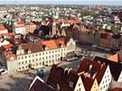Historické centrum polské Vratislavi