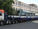Čtyřčlánková tramvaj Škoda Forcity je nejdelší v Česku vyrobenou tramvají.