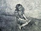 Otto Pankok zvěčnil příběh romské ženy, která přežila koncentrační tábor.