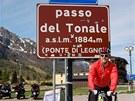 Ji�� Onde�ko t�sn� po v�jezdu na Passo Tonale