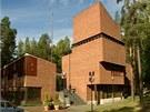 Jedn�m z n�stroj� architekta se stala cihla, tradi�n� materi�l.