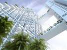 Mrakodrap nazvan� Sky Habitat Singapore nab�dne 509 byt�.