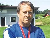 Fotbalový trenér Přemysl Bičovský.