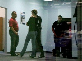 Policist� z �tvaru organizovan�ho zlo�inu obsadili 1. �ervna dota�n� ��ad v