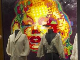 Výstava věnovaná herečce Marilyn Monroe