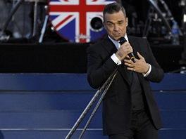Koncert pro královnu Alžbětu II. - Robbie Williams