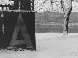 Jan Reich: Smíchov (1978, z cyklu Mizející Praha)