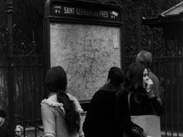 Jan Reich: Metro Saint-Germain des Prés (1969, z cyklu Paříž)