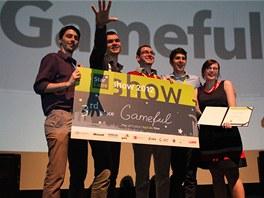 Tým Gameful získal třetí místo v soutěži StarCube 2012.