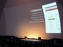 Prezentace rezervačního systému Reservio (Boris Bošiak)