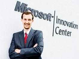 Michal Hrabí z Jihomoravského inovačního centra  (Microsoft Innovation Center je součástí JIC)