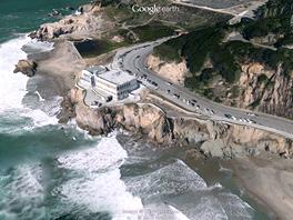 San Francisco pohledem nových 3D map vyrenderovaných ze 45stupňových leteckých