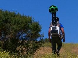 Fotografické podklady pro Street View lze nyní získat i pomocí batůžku na