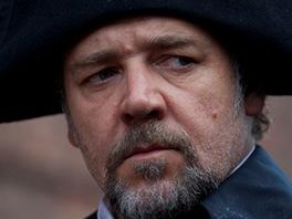 Z filmu Bídníci, Russell Crowe