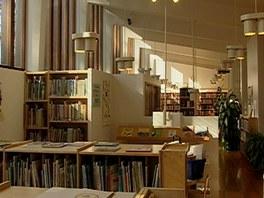 Interi�ry knihovny M�stsk�ho centra