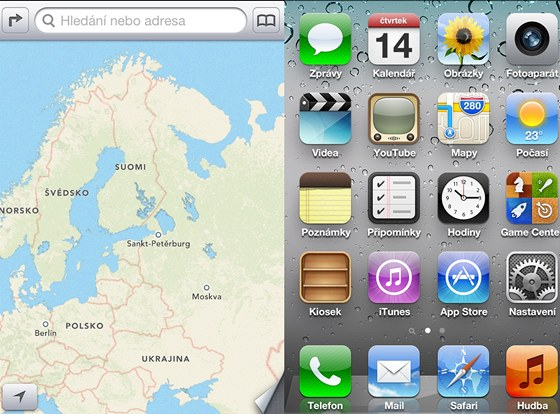 Ikonka nov�ch map v iOS 6