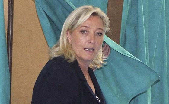 Marine Le Penová u plenty.
