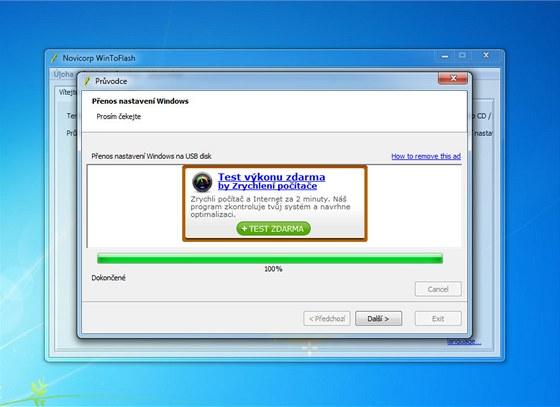 Tvorba instalačního USB flash disku