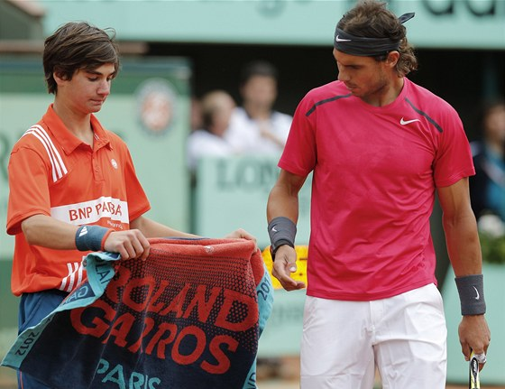Rafael Nadal ve finle Roland Garros.
