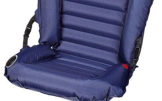 Nafukovací sedačka Bedi od české firmy Gumotex