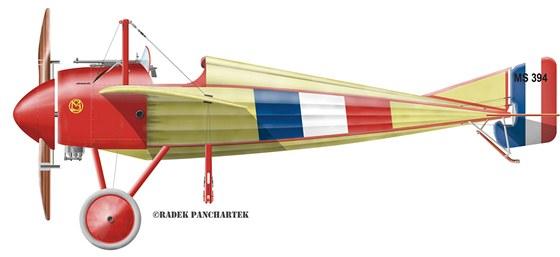 Morane-Saulnier N byl jediným letounem, na kterém došlo k většímu rozšíření