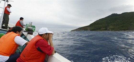 Japonskem kontrolovan� neobydlen� souostrov� Senkaku si u� n�kolik desetilet�