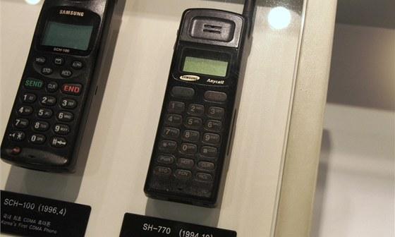 Muzeum Samsung - SH-770, prvn� telefon se zna�kou Anycall (1994)