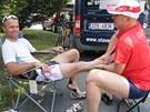 Svatopluk Božák na ultramaratonu Glockerman