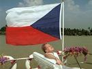 V�stava Prezident V�clav Havel, slo�en� z fotografi� �TK (Bangkok, 1994)