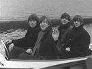 The Beatles na jednom ze sn�mk� vystavovan�ch v New Yorku